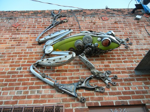 scrap froggy at Alliance Recycling
