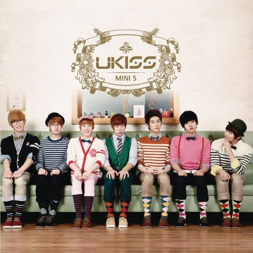 U-Kiss Bran New Kiss (album cover)