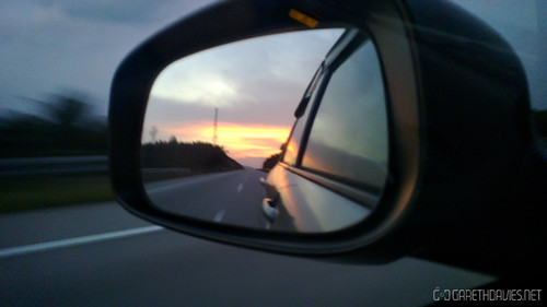 East Coast Highway Sunset