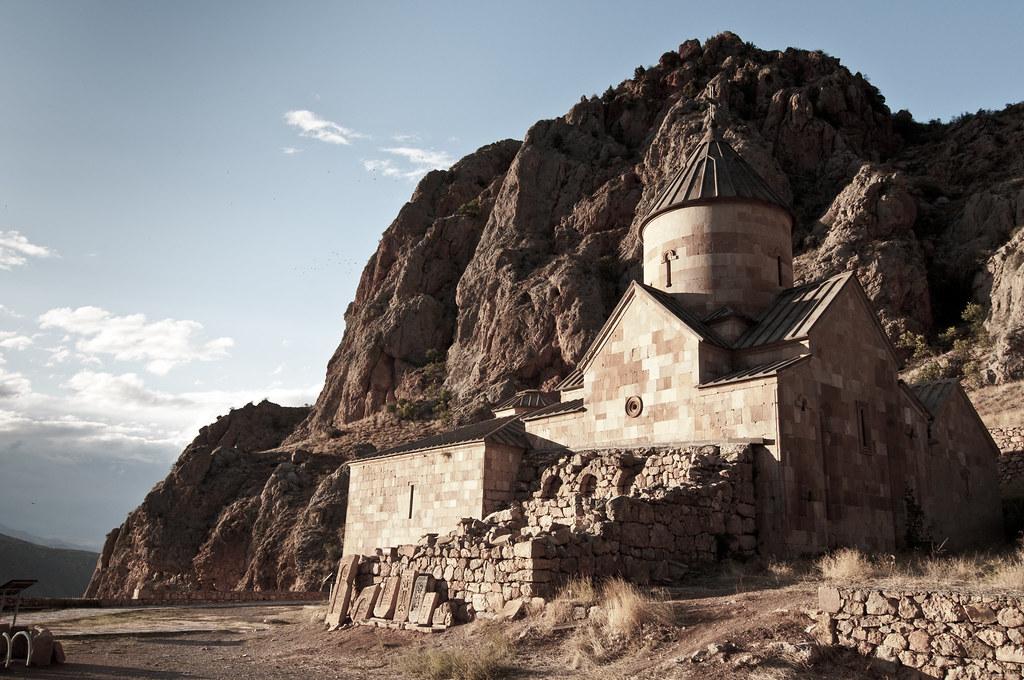 In Noravank monastery, Armenia