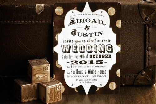 Royal Steamline Wedding Invitations S Most Interesting