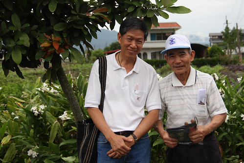 米之神基金會創辦人德查以實際行動幫助泰國農民。(攝影:張信緯)