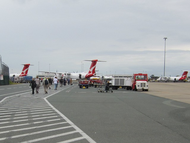 Boarding at Brisbane