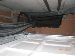 Instalación dentro falso techo