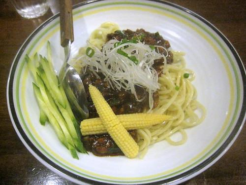 ジャージャー麺@ヤマン(江古田)