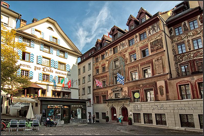 Suiza - Pueblos con encanto - Lucerna - Weinmarkt