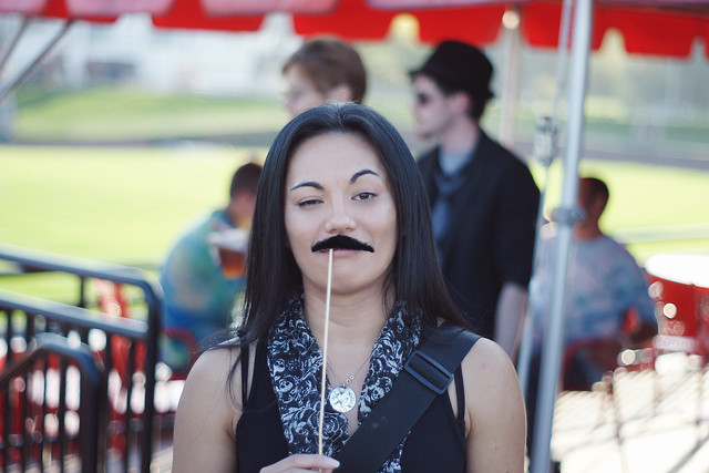 My Mustache Brings all the Boys to the Yard