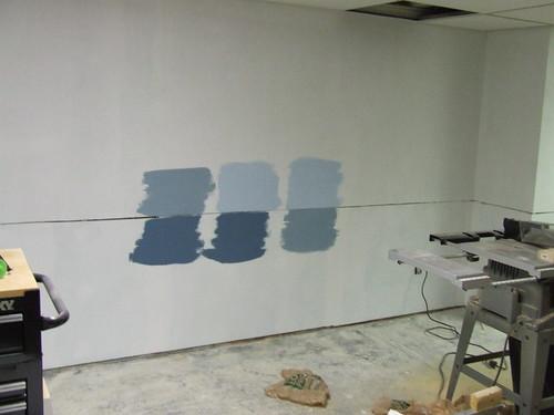 Basement Progress: Color selection