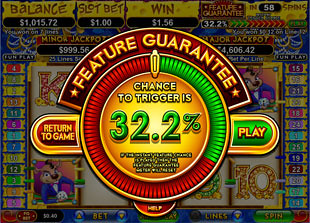 free Mice Dice slot feature guarantee