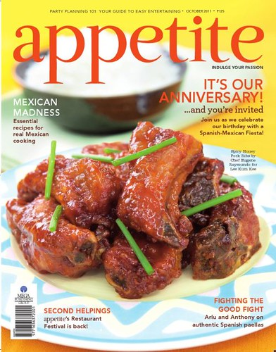 APPETITE October 2011