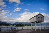 The Light Shed (benjaminwelliott) Tags: canada mountains water vancouver britishcolumbia seawall coalharbour lightshed
