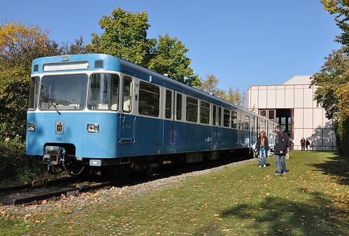 Dass die U-Bahn bereits 40 Jahre alt ist, realisieren im Schatten von 135 Jahren Trambahngeschichte nur wenige. Wagen 091 soll als Museumswagen langfristig erhalten bleiben.