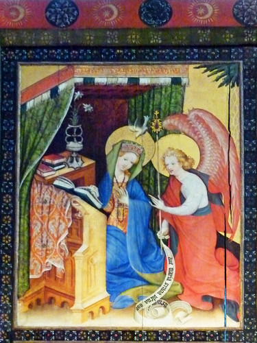 Bad Wildungen, Stadtkirche, Ankündigung der Geburt Christi