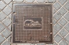 KGV_6077_F (KorGen) Tags: espaa spain manhole chameleon mlaga supercable