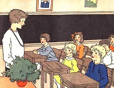 TeacherInClassroom