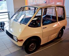 EMA 1 (1970) (The Adventurous Eye) Tags: city car electric 1 nikon d brno ema 7000 electromobile d7000 technicalmuseumbrno