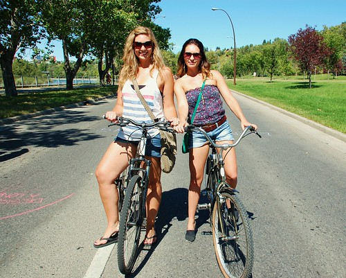 Bow River Flow 2011  - Laurie & Jessica