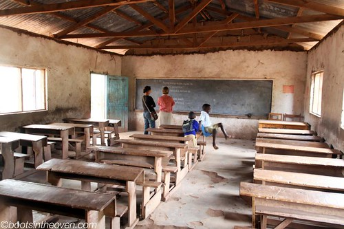 Classroom at Mto wa Mbu Primary