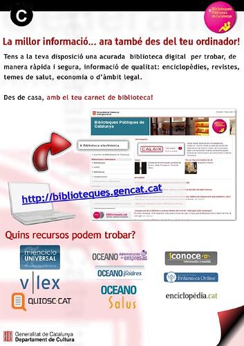 Biblioteca electrònica by bibliotecalamuntala