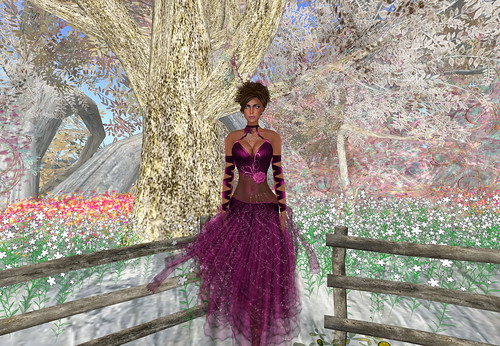 aDiva Couture Jean Mauve by Cherokeeh Asteria