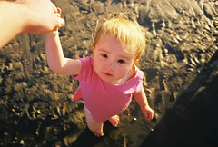 my offspring (lomokev) Tags: pink sea portrait beach girl look person sand toddler brighton child mju olympus human lowtide agfa ultra goldenhour agfaultra olympusmju olympusmjuii deletetag olympusmju2 matildameredith roll:name=110930olympusmjuiiagfaultra file:name=110930olympusmjuiiagfaultra14