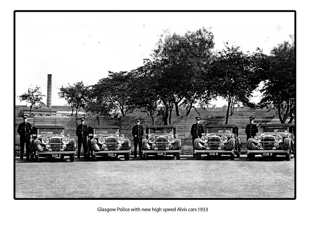Glasgow Police 1933