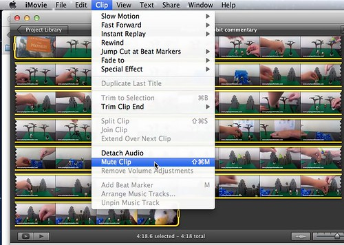 how to join clips in imovie youtube
