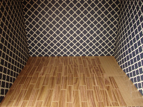 dollhouse wooden floor
