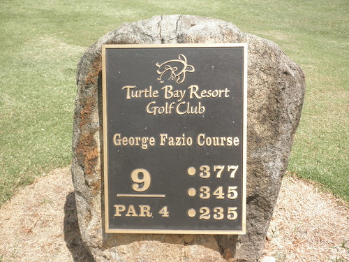 Turtle Bay Colf Course 209