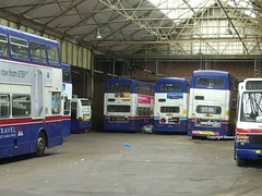 Awaiting new homes (MCW1987) Tags: street travel west miller mk2 aston midlands withdrawn metrobus twm mcw mk2a