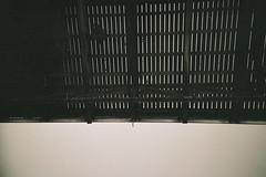 (The New Motive Power) Tags: above shadow sea people blackandwhite abstract beach lines vertical contrast analog walking coast pier seaside high boards lomo lca lomography brighton timber grain lofi victorian palace minimal historic deck seafront vignette pleasure