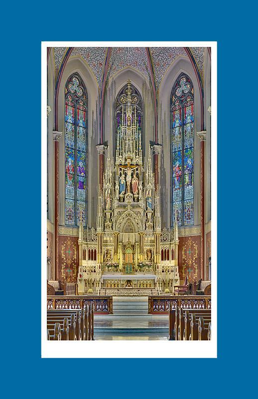 Saint Francis de Sales Oratory - fundraising print