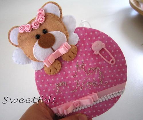 ♥♥♥ Mon 1er Noel menina! by sweetfelt \ ideias em feltro