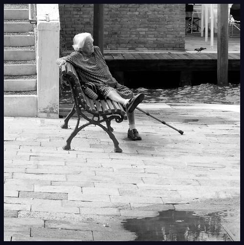 oude vrouw by hans van egdom