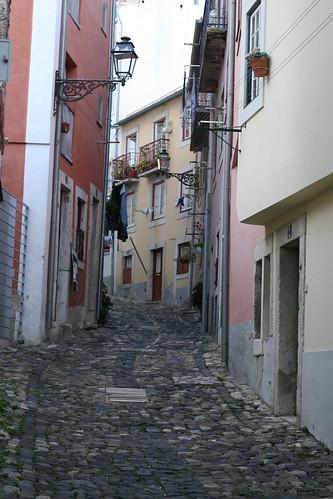 lisbon - cobbled hills