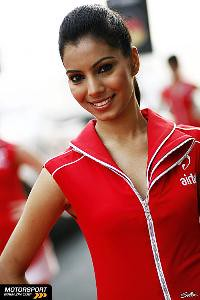 Pit Girl INdia GP 2011