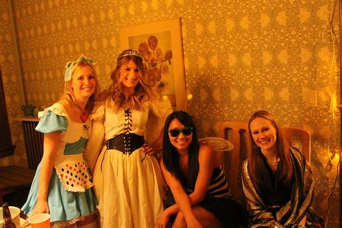 Catie, Kristina, Becky, Tessa