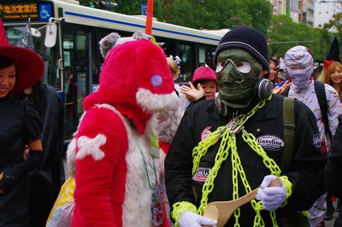 KAWASAKI HALLOWEEN 2011 Parade IMGP8450