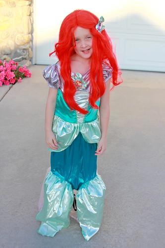 Gwen as Ariel