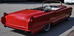 "1956 Series 62 Red Convertible Cadillac restoration • <a style=""font-size:0.8em;"" href=""http://www.flickr.com/photos/85572005@N00/6303514878/"" target=""_blank"">View on Flickr</a>"