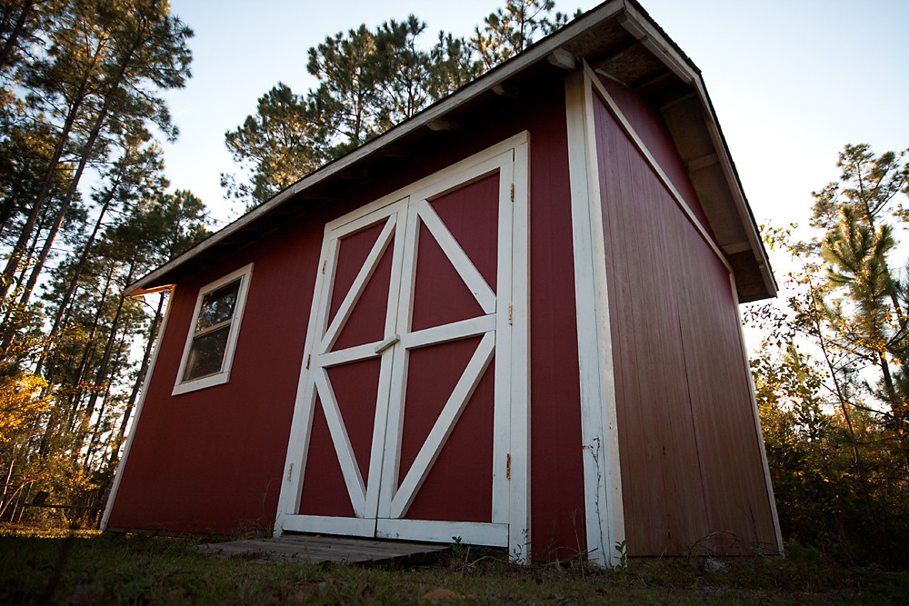 Low 1/30: Red Shed