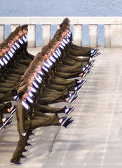 Precision (samthe8th) Tags: marching soldiers northkorea pyongyang thepinnaclehof tphofweek127