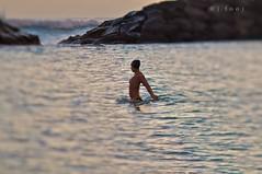 Swimcapped Swan 306/365 (j . f o o j) Tags: hawaii nikon slim oahu magicisland bronica bikini swimmer honolulu alamoana f35 d300 150mm project365 zenzanon freelensing freelensed project365110211 foojphoto jfooj swimcappedswan