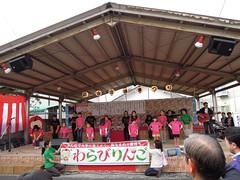 蕨宿場祭り わらびりんご踊り