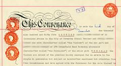 Legal stamp – Conveyance