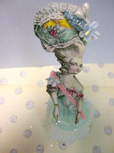 Cupcake Liner Dolls! 5