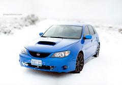 Raijin {2/52} (Kyle Ford | www.KyleSFord.com) Tags: blue snow beautiful composite project nevada subaru 5d rex wrx canoneos 52 method markii brenizer raijin 52weeks 85l