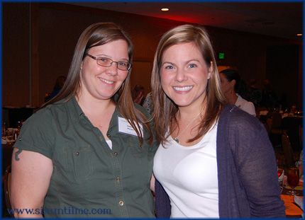Jessica and Kerri, at the Diabetes Sisters event.