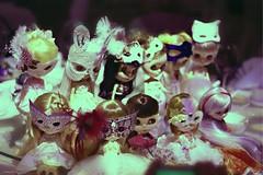 Masquerade-themed wedding