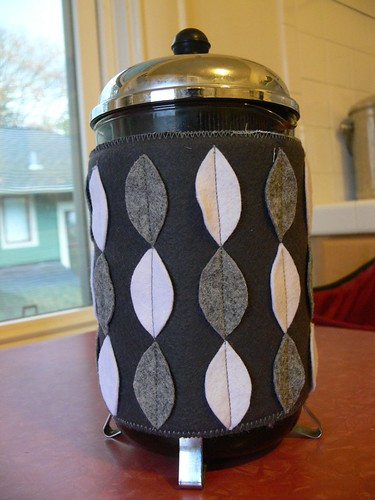 Jenny: French Press Cozy